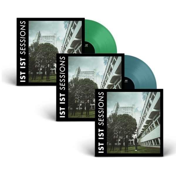 'Sessions' - Aquamarine Vinyl, Green Vinyl and CD Bundle - IST IST