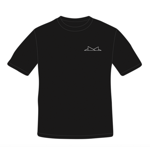 'Triangles' Tee - Embroidered Logo - IST IST