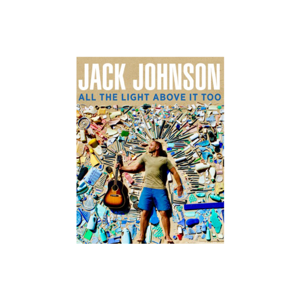 All The Light Above it Too Lithograph poster - Jack Johnson UK