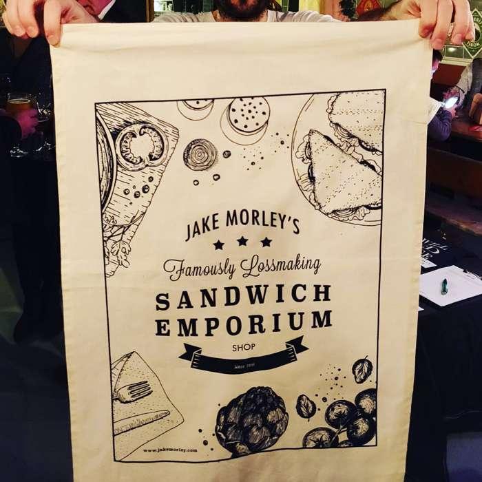 Famously Lossmaking Tea Towel - Jake Morley