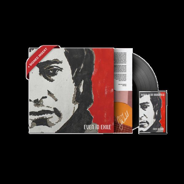 Even in Exile Heavyweight Signed Vinyl + Cassette - James Dean Bradfield