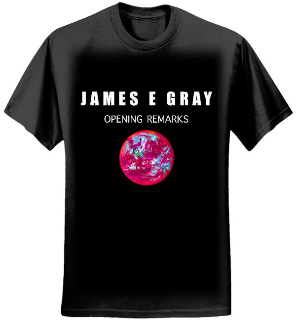 James E. Gray - Opening Remarks - Women's Black T-Shirt - James E. Gray