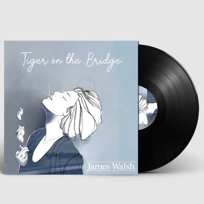 "Tiger on the Bridge (Signed 12"" Vinyl) - James Walsh"