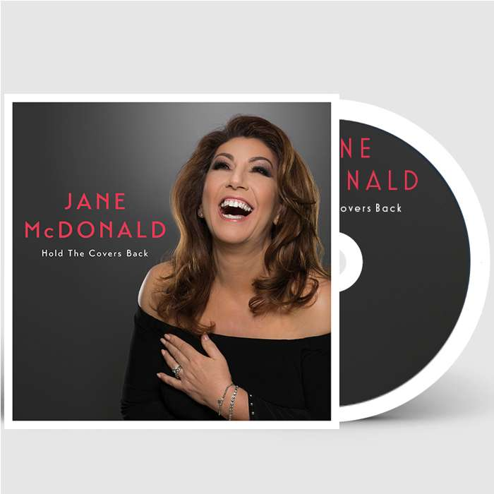 Hold The Covers Back (Limited Signed CD) - Jane McDonald