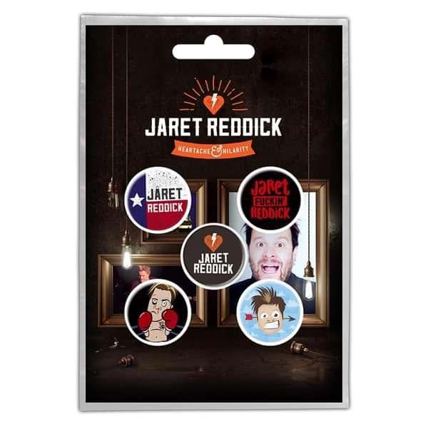 Badge Pack - Jaret Reddick