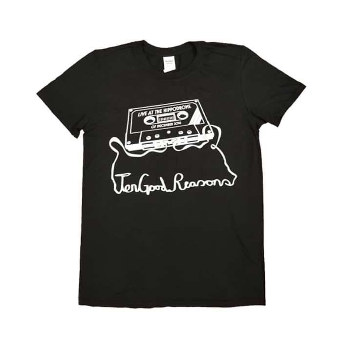 Jason Donovan Black Hippodrome T-Shirt - Jason Donovan