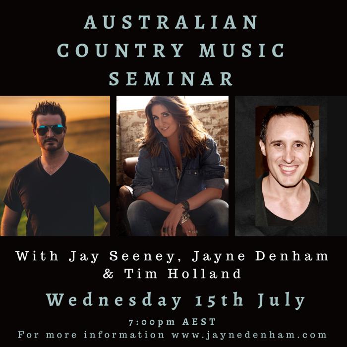 Country Music Seminar - Jayne Denham