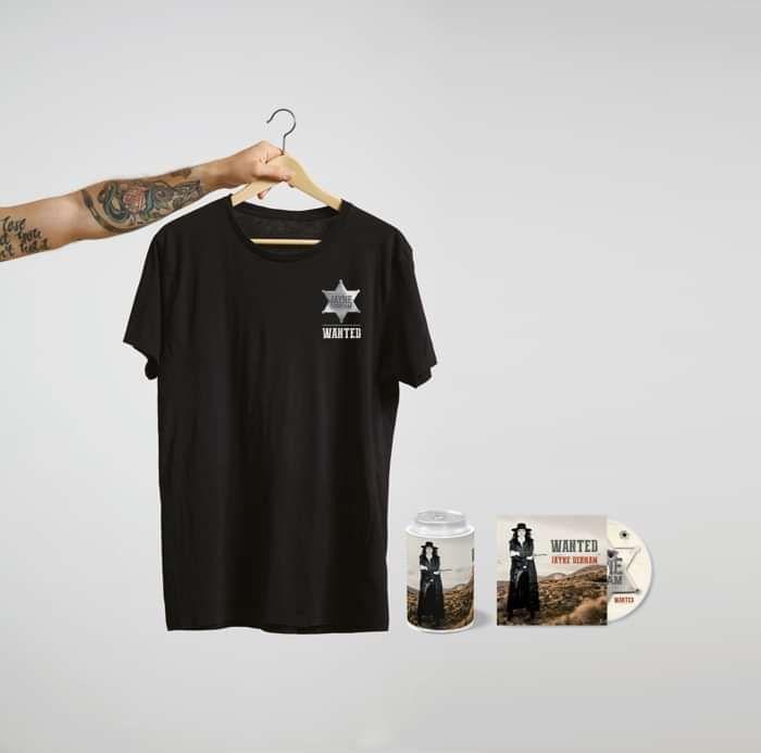 Pre order 'WANTED' CD, T Shirt bundle - Jayne Denham
