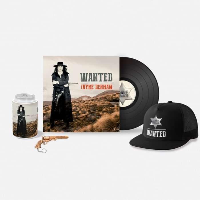 Pre order 'WANTED' Vinyl Bundle - Jayne Denham