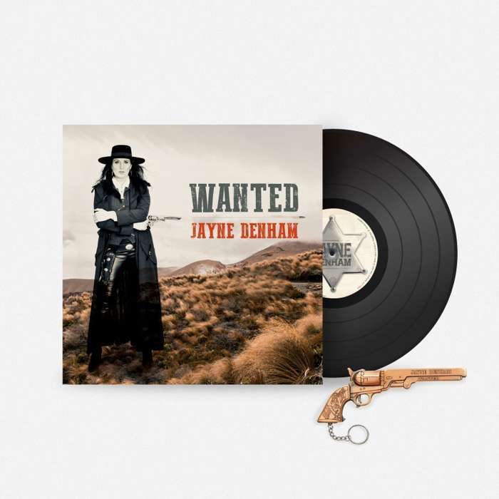 Pre order 'WANTED' Vinyl - Jayne Denham