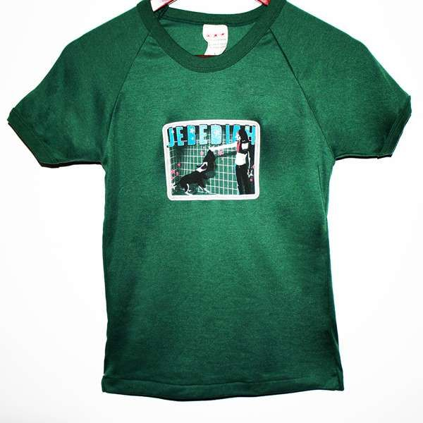 Garageland + Sugarchild  Tour - Green T-Shirt (Youth Sizes) - Jebediah