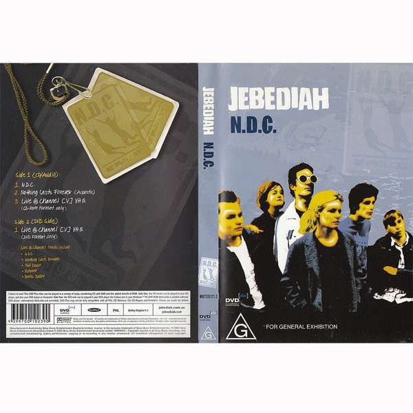 N.D.C - DVD - Jebediah