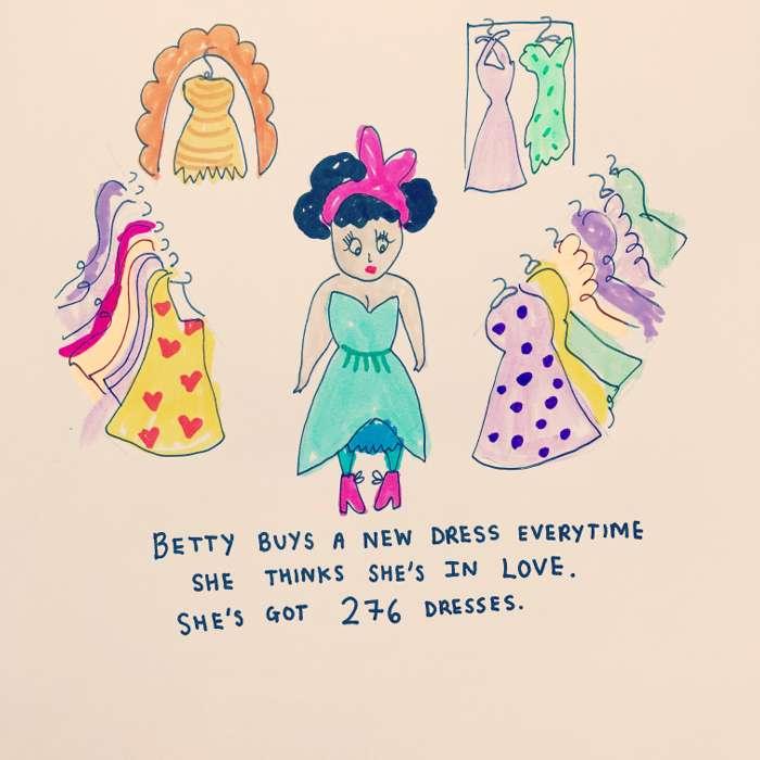 Betty - Jessie Cave