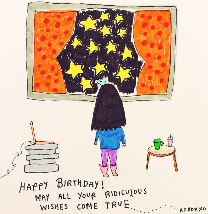 Birthday - Jessie Cave