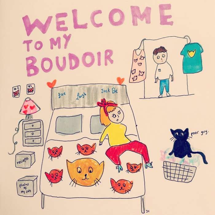 Boudoir - Jessie Cave