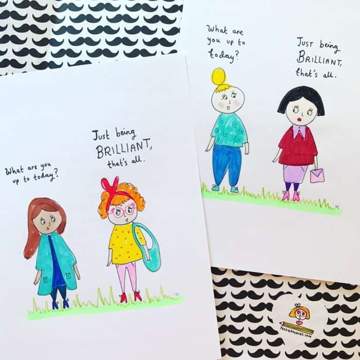 Brilliant - Jessie Cave
