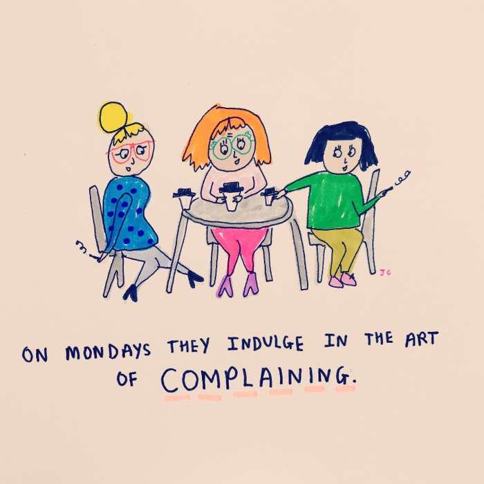 Complaining - Jessie Cave