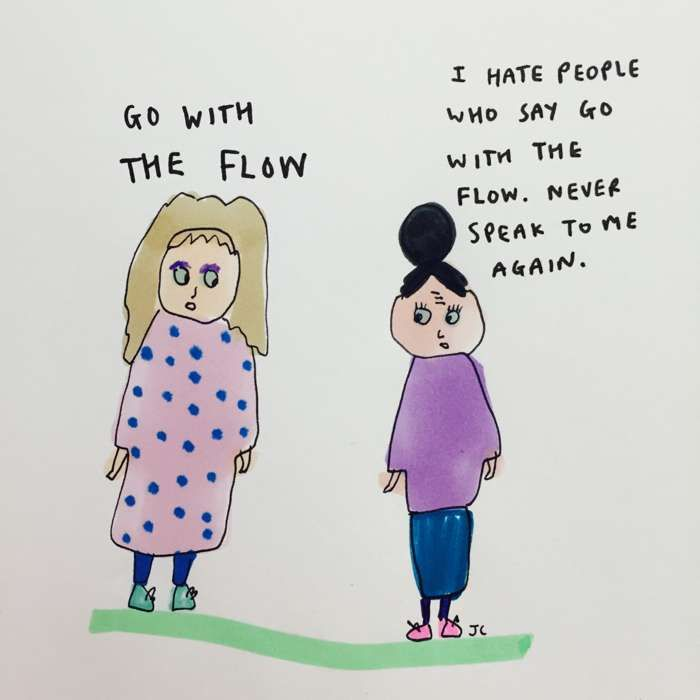 Go With The Flow - Jessie Cave