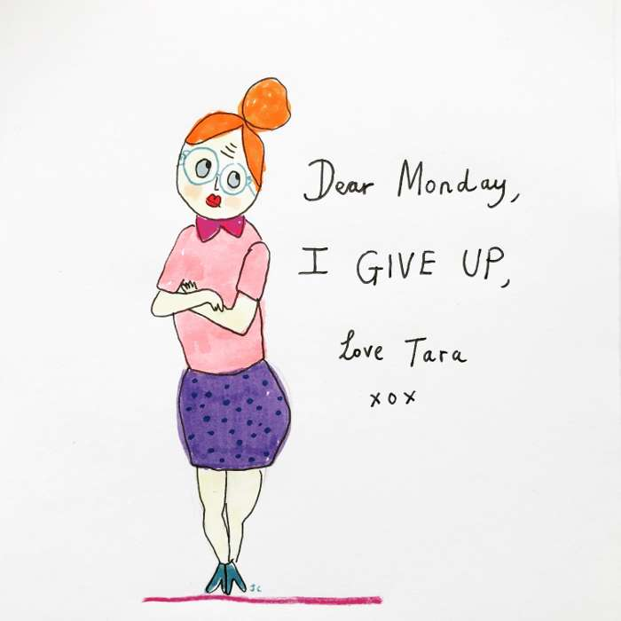 I give up - Jessie Cave