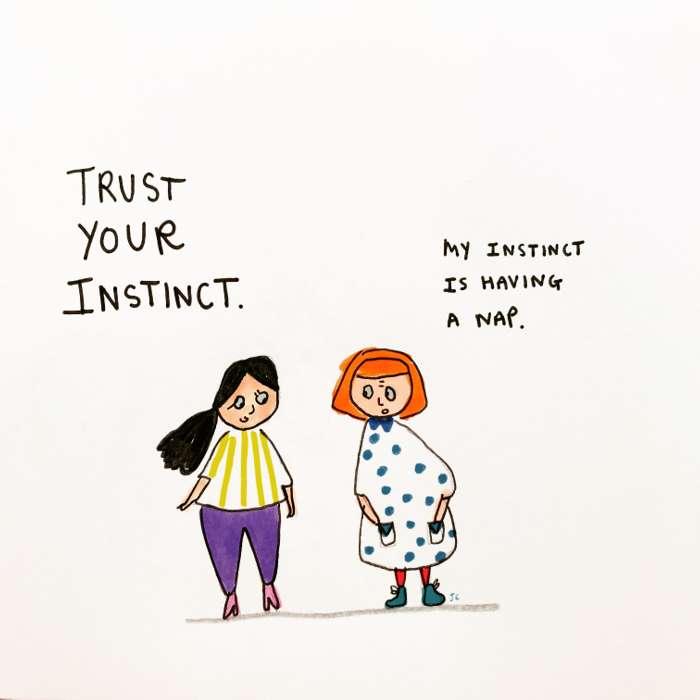 Instinct - Jessie Cave