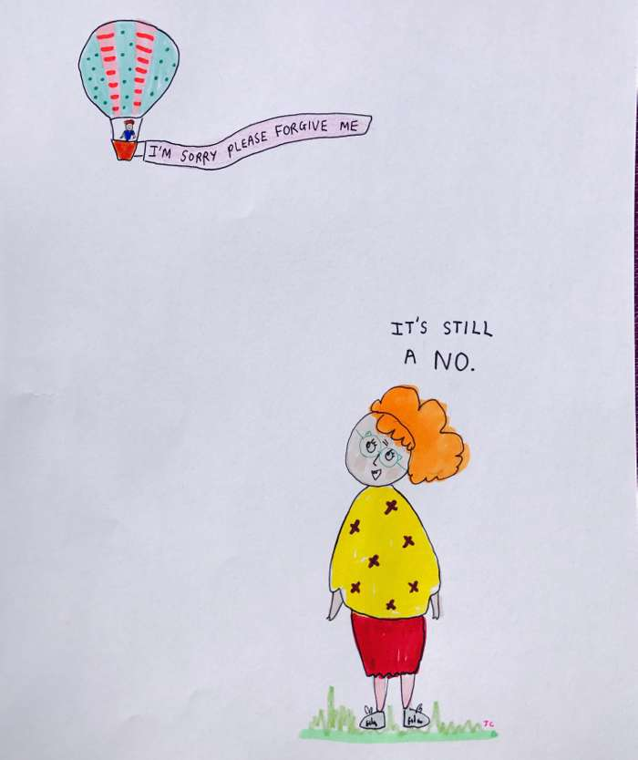 It's Still a No - Jessie Cave
