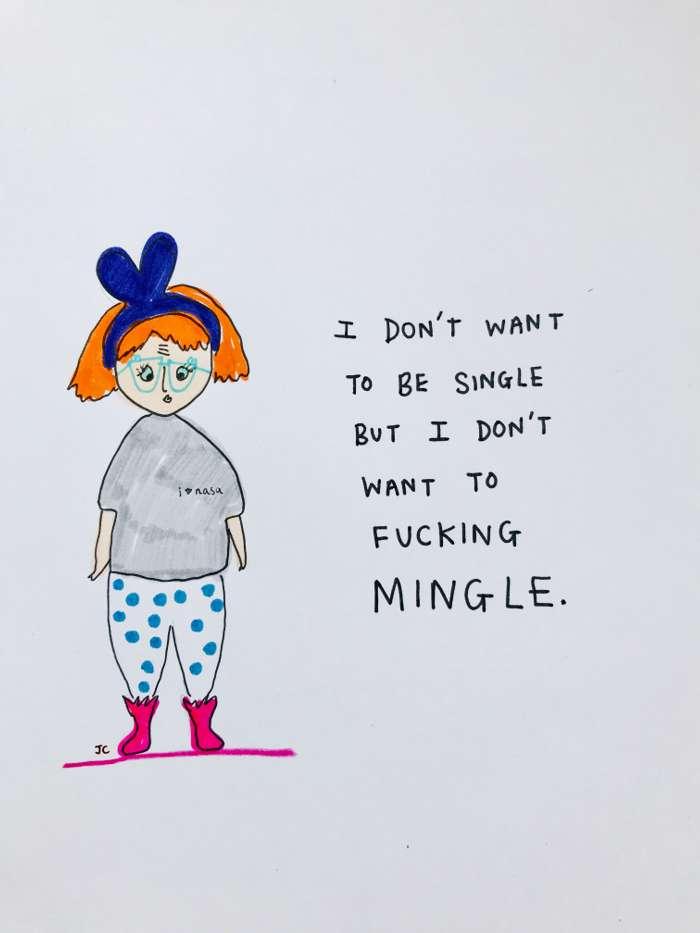 MINGLE PRINT - Jessie Cave