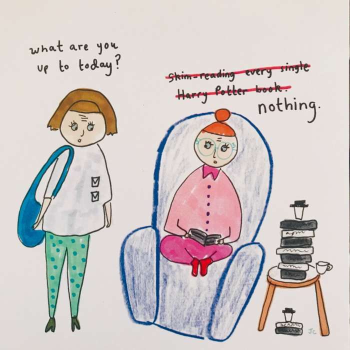 NOTHING PRINT - Jessie Cave
