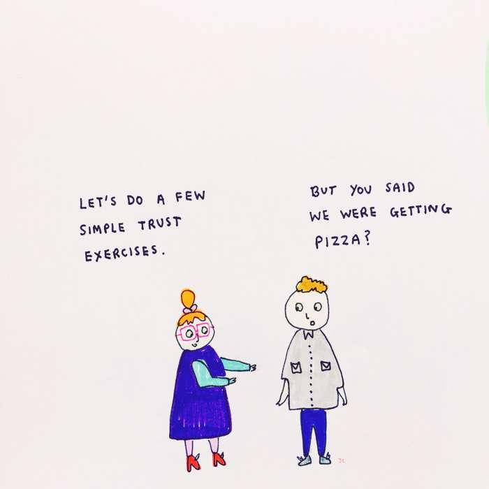 Pizza - Jessie Cave