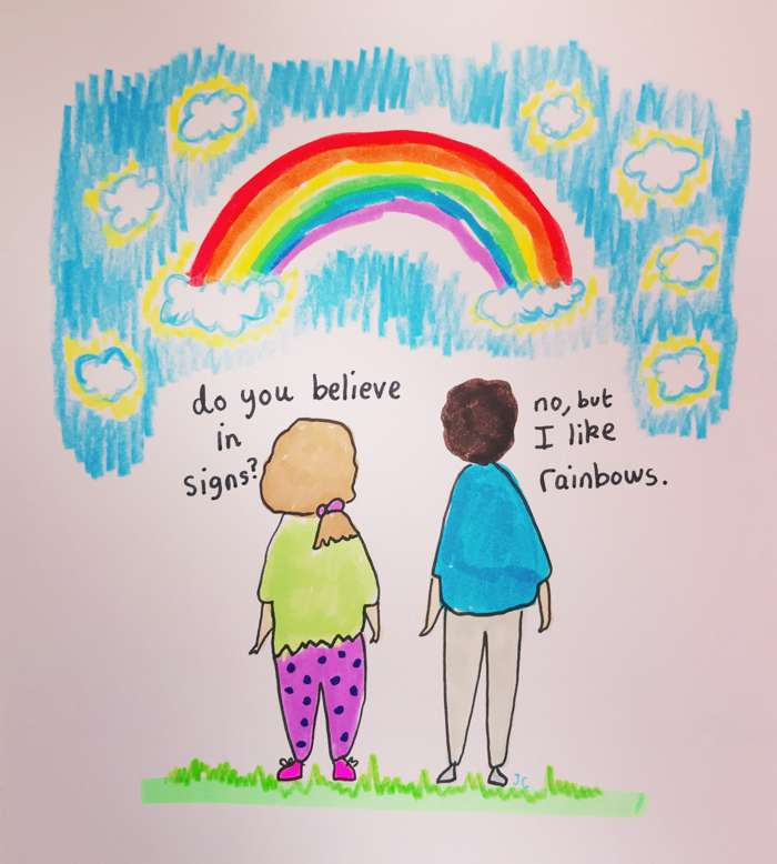 RAINBOWS PRINT - Jessie Cave