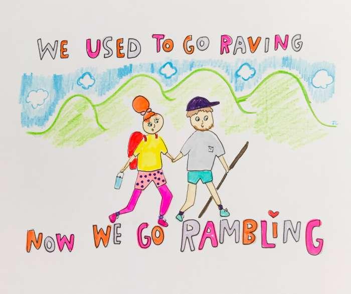 RAMBLING PRINT - Jessie Cave