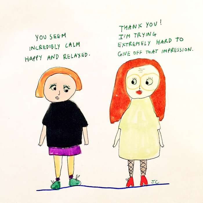 Relaxed - Jessie Cave
