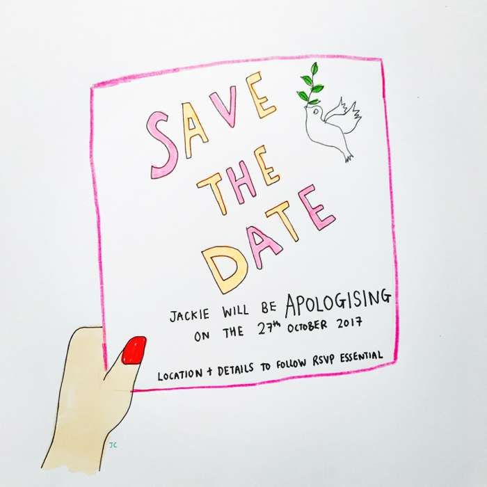 Save the date - Jessie Cave