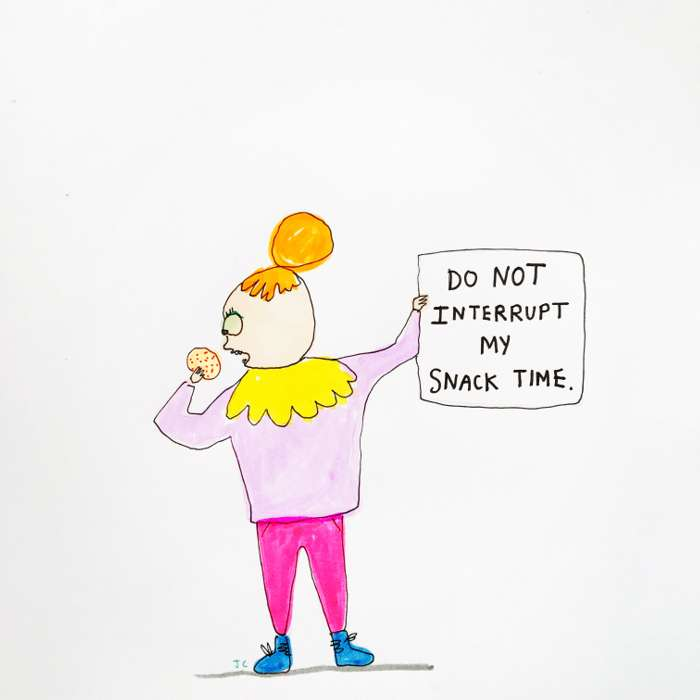 Snack Time - Jessie Cave