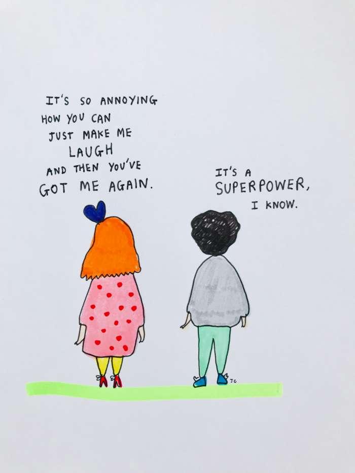 SUPERPOWER PRINT - Jessie Cave