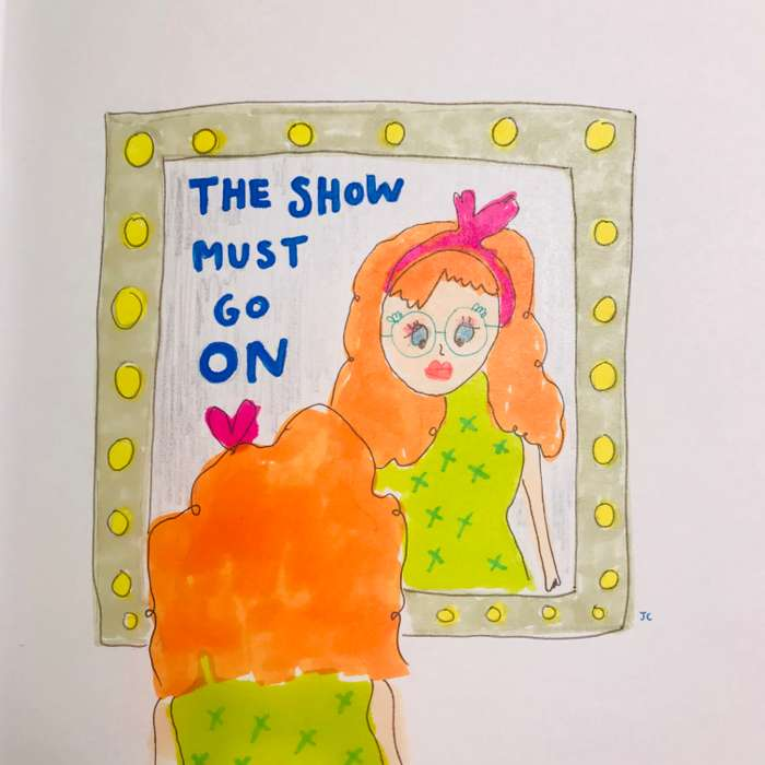 The Show Must Go On - Jessie Cave