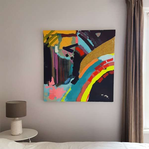 #151 - Abstract Painting by Jessie Woodward