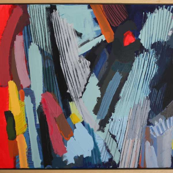 #155 - Abstract Painting by Jessie Woodward