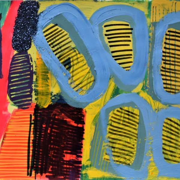 #166 - Abstract Painting by Jessie Woodward