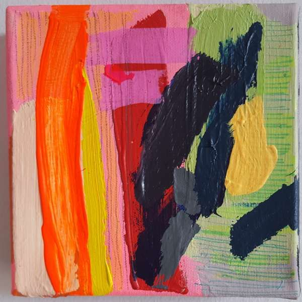 Abstract Painting by Jessie Woodward