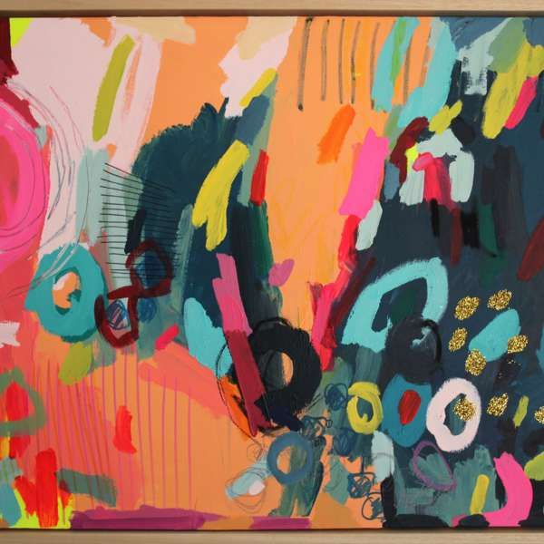 #427 - Abstract Painting by Jessie Woodward