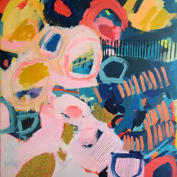 #445 - Abstract Painting by Jessie Woodward