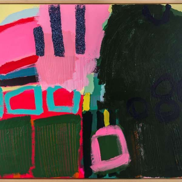 #453 - Abstract Painting by Jessie Woodward
