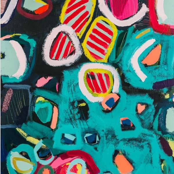 #457 - Abstract Painting by Jessie Woodward