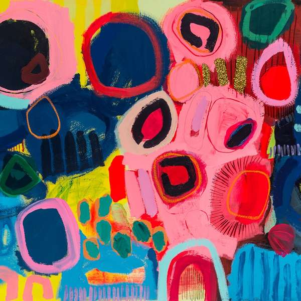 #458 - Abstract Painting by Jessie Woodward