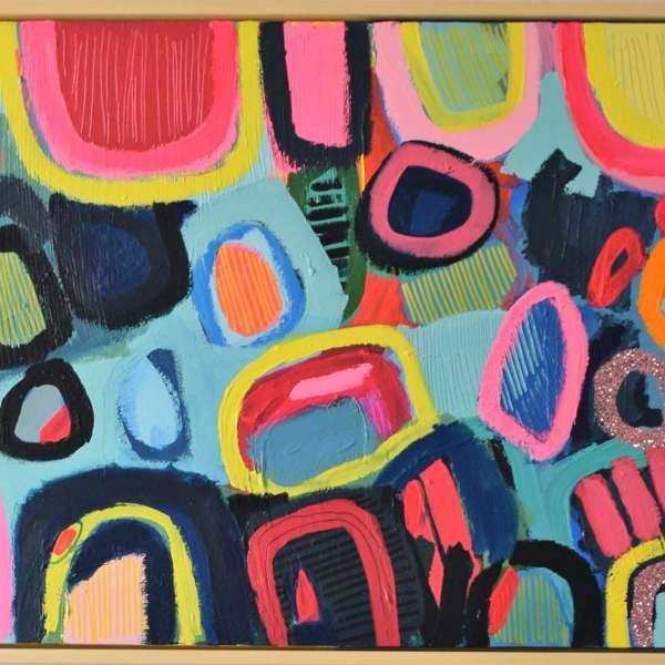 #461 - Abstract Painting by Jessie Woodward