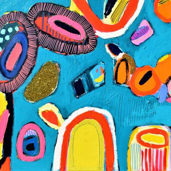 #470 - Abstract Painting by Jessie Woodward
