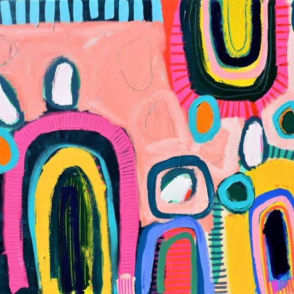 #471 - Abstract Painting by Jessie Woodward