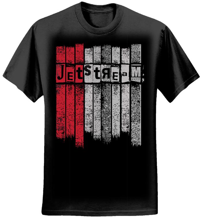 Ladies - Jetstream Stripes Tee - Jetstream