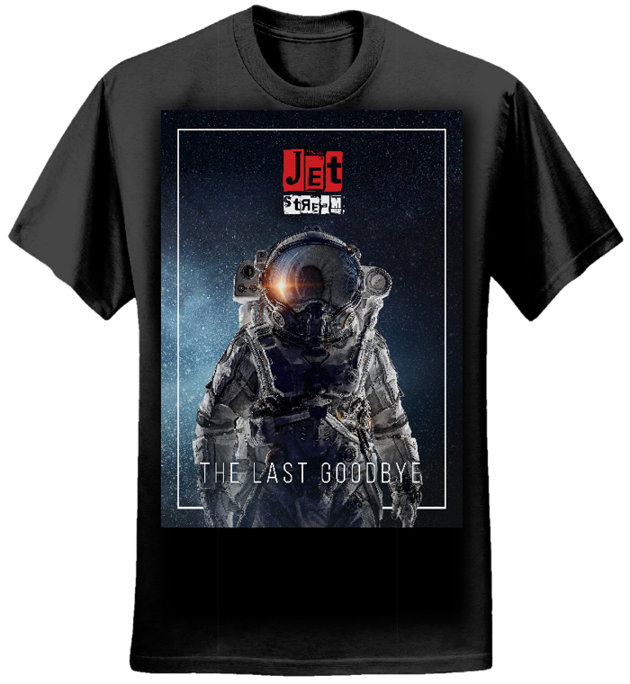 Mens - 'Astronaut' Tee (Black) - Jetstream
