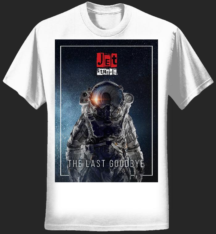 Mens - 'Astronaut' Tee (White) - Jetstream